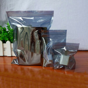Translucent Esd Anti Static Shielding Sealable Zip Lock Pouch Bags