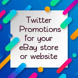 Promote Your Store Or Website 22k People Traffic Ads Promo Marketing 125 Tweets