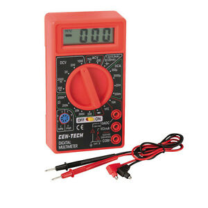 Digital Multimeter Amps Ac dc Voltmeter Ohmmeter Brand New