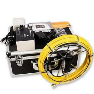Hbuds Pipeline Inspection Camera Pic20 Waterproof Ip68 Snake Video 20m Cable