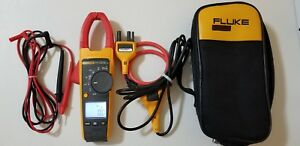 Used Fluke 376 True Rms Ac dc Clamp Meter Iflex And More Great Tp 224172