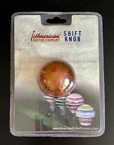 American Shifter Co Shift Knob 53777 i Dodge With Flames Metal Flakes