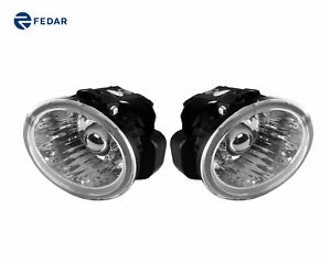 Clear Lens Fog Light Assembly Pair W Bulb Fits 2005 Nissan Murano Altima