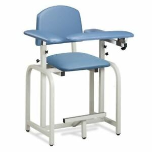Clinton Lab X Series Extra tall Blood Drawing Chair With Padded Arms