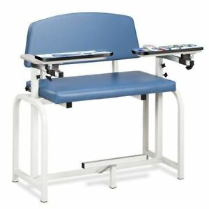 Clinton Pediatric Series arctic Circle Extra Wide Blood Drawing Chair
