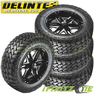 4 X New Delinte Bandit Mt Dx9 35x12 50r20lt 121q E 10 Tires