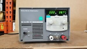 Kikusui Pan35 10 Regulated Dc Power Supply 0 35v 0 10a Tested Good