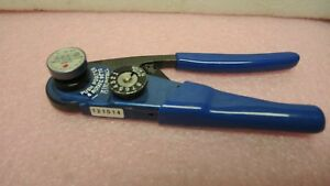Astro M22520 2 01 Crimping Tool With Glenair Mighty Mouse 30 Awg Size 23 Die