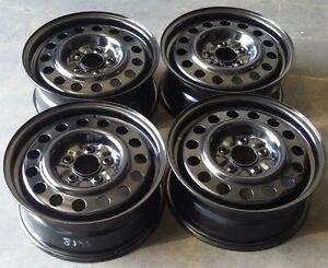 Chevy Impala Factory Oem Steel Wheels Rims 2000 2011 16x6 1 2