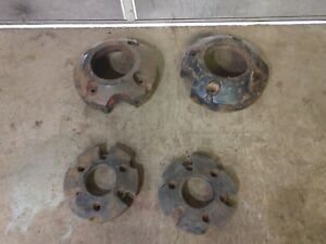 Vintage Farmall Tractor Front And Rear Wheel Weights A Av Super A