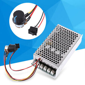 10 50v 100a 5000w Programable Reversible Pwm Dc Motor Speed Controller Driver Hf