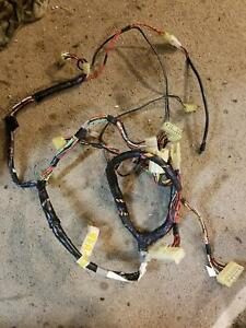 1989 90 Geo Tracker Suzuki Sidekick Wiring Harness 1 6l Under Dash Cluster Wires