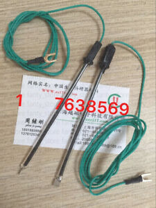 1pc 5 5 0 2mm Glass Platinum Electrode Electrochemical Electrode With Wire a6v3