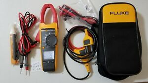 Fluke 376 True Rms Ac dc Clamp Meter Iflex And More Great Tp 224262