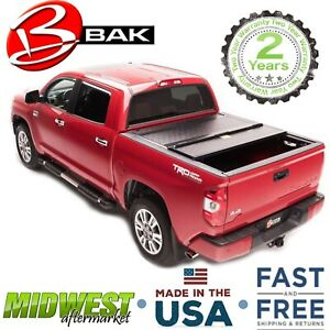 Bakflip G2 Gloss Black Trifold Tonneau Cover For 2007 19 Toyota Tundra 5 7 Bed