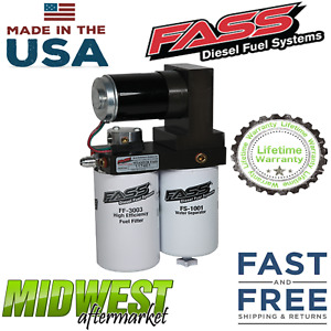 Fass Fuel Pump 165gph Fits 1998 5 2004 Dodge Ram 2500 3500 Cummins 5 9l