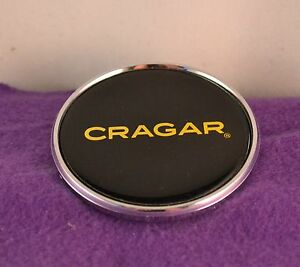 Cragar Chrome Custom Wheel Center Cap 1