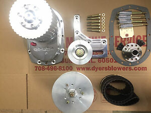 671 Sbc Small Block Chevy Dyer s 3 Blower Drive Kit Polished New 6 71