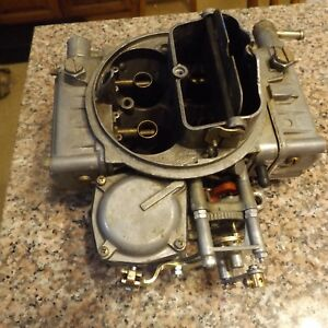 Holley Carburator 4160 Family From 1987 Ford Truck 460 Motor