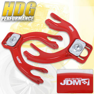 For 1992 1995 Honda Civic 1993 1997 Del Sol Red Front Upper Camber Arms Kit