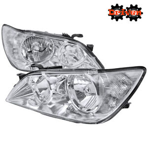For 2001 2005 Lexus Is300 Chrome Euro Headlights Replacement Lights Altezza