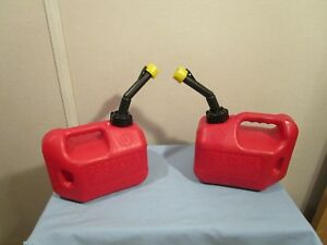 Blitz 1 Gallon 4oz Gas Fuel Can With Vented Fixed Spout 50805 1cxg Usa two