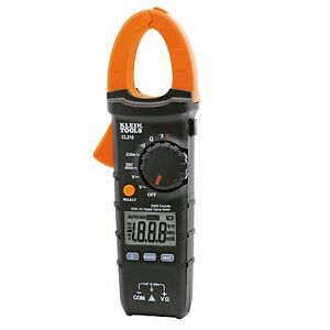 Klein Tools Cl210 400a Ac Auto ranging Digital Clamp Meter W Temperature