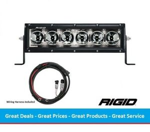 Rigid Industries Radiance Series 10 Inch Led Light Bar With White Back Light