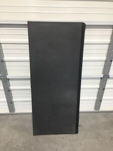 02 13 Avalanche 1 First Tonneau Bed Cover Hard Top Rear Trim Panel Cab 15087330
