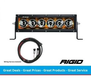 Rigid Industries Radiance Series 10 Inch Led Light Bar With Amber Back Light