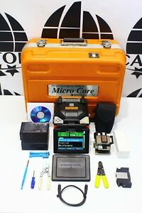 Sumitomo Fiber Optic Fusion Splicer Type 39 Type 39 W Fc 6s And A New Battery