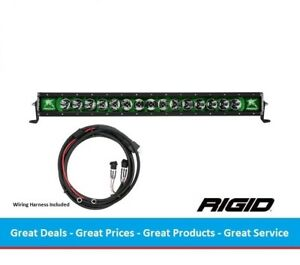 Rigid Industries Radiance Series 30 Inch Led Light Bar With Green Back Light