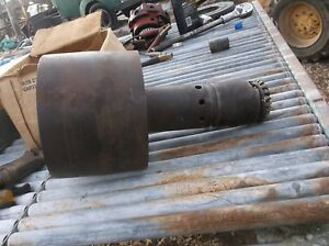 Allis Chalmers Wd Wd45 Tractor Steel Ac Belt Pulley Drive Assembly Flatbelt Part