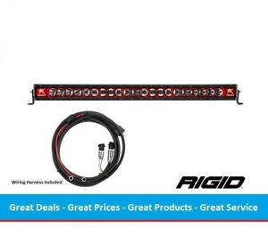 Rigid Industries Radiance Series 40 Inch Led Light Bar With Red Back light