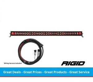 Rigid Industries Radiance Series 50 Inch Led Light Bar With Red Back Light