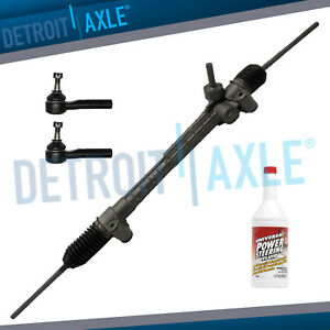 Electronic Steering Rack And Pinion Both Outer Tie Rods 2004 2012 Chevy Malibu