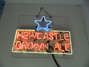 Newcastle Beer Bar Party Man Cave Restaurant Neon Light Sign New