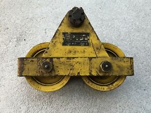 Budgit M 1038 2 Ton I beam Mount Hoist Trolley heavy Duty