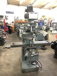 Machinists Dynapower spain Milling Machine 10 X 47 Table