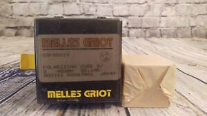 Melles Griot 03 Pbs 019 Polarizing Cube Beamsplitter 488nm 38 1mm 000711 J4049