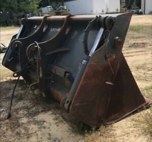 Jrb 418 Multi purpose 4in1 Bucket Attachment Clam Bucket Jrb Quick Attach