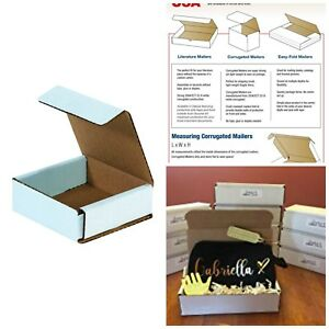 Small Shipping Boxes Cardboard Corrugated Delivery Packaging Supplies 50 Pack