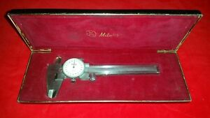 Vintage Mitutoyo Dial Calipers Code No 505 495 Made In Japan