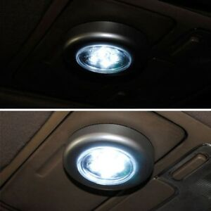 Car Universal Auto Accessories Interior Led Trunk Touch Light Night Reading Lamp