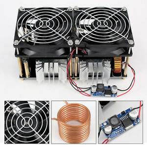 1800w Zvs Induction Heating Board Module Driver Heater With Heat Sink 40a Kit