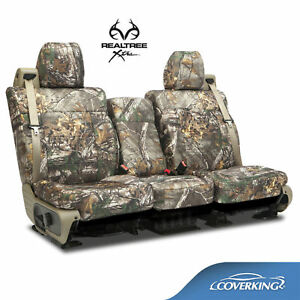 Coverking Neosupreme Realtree Xtra Camo Front Seat Covers For Ford F250 F350