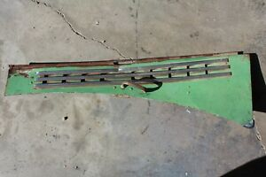 40 41 42 43 44 45 46 Chevy Truck Lower Hood Side Panel Left Drivers Side