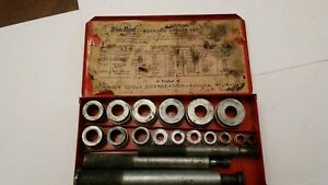 Blue Point snap On Tools A 157a Bushing Driver Set used