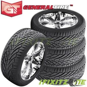 4 General Grabber Uhp 255 65r16 109h Tires