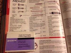 Midwest Triple seal Contra Angle Head Handpiece